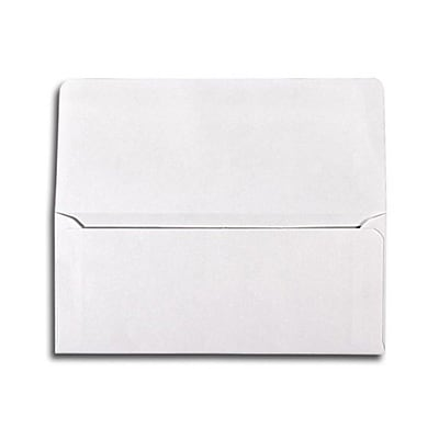 LUX® 70lbs. 2 7/8 x 6 1/2 Square Flap Envelopes; White, 250/BX