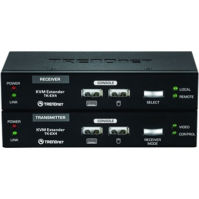 TRENDnet Video & Mouse Ctrl KVM Extension Kit For Keyboard
