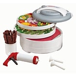Nesco® FD-61WHC 500W Snackmaster® Encore Food Dehydrator All-In-One Kit With Jerky Gun