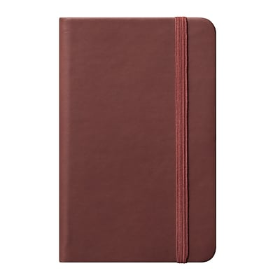 Eccolo™ Faux Leather Small Cool Jazz Pocket Journal, Tan