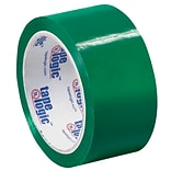 Tape Logic 2W x 55 Yards x 2.2 mil Carton Sealing Tape, Green, Pack of 6 (T90122G6PK)