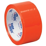 Tape Logic 2W x 55 Yards x 2.2 mil Carton Sealing Tape, Orange, Pack of 6 (T90122O6PK)