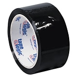 Tape Logic 2 x 55 yds. x 2.2 mil Carton Sealing Tape,  Black,  6/Pk