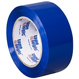 Tape Logic 2 x 110 yds. x 2.2 mil Carton Sealing Tape,  Blue,  6/Pk