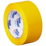 Tape Logic 2W x 110 Yards x 2.2 mil Carton Sealing Tape, Yellow, Pack of 6 (T90222Y6PK)
