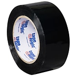 Tape Logic 2W x 110 Yards x 2.2 mil Carton Sealing Tape, Black, Pack of 6 (T90222BK6PK)