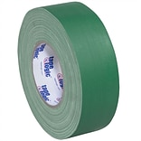Tape Logic 2 x 60 yds. x 11 mil Gaffers Tape,  Green,  3/Pk