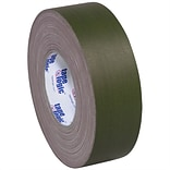 Tape Logic 2 x 60 yds. x 11 mil Gaffers Tape,  Olive Green,  3/Pk