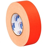 Tape Logic 2 x 50 yds. x 11 mil Gaffers Tape,  Fluorescent Orange,  3/Pk