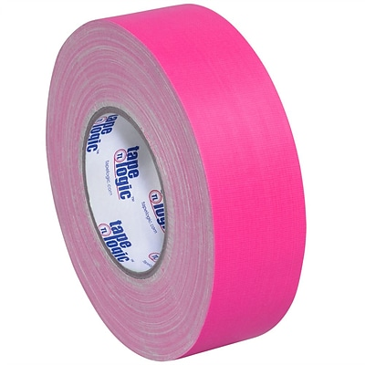Tape Logic 2 x 50 yds. x 11 mil Gaffers Tape,  Fluorescent Pink, 24/Carton