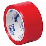 Tape Logic 2 x 55 yds. x 2.2 mil Carton Sealing Tape,  Red,  6/Pk