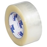 Tape Logic 110 yds. x 2 x 2.2 mil #800 Hot Melt Adhesive Tape,  Clear, 6/Pk