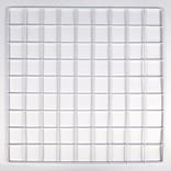 Mini Grid, White, 14 X 14