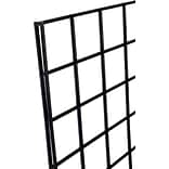 Gridwall Panel, Black, 2 X 4, 3/Pack