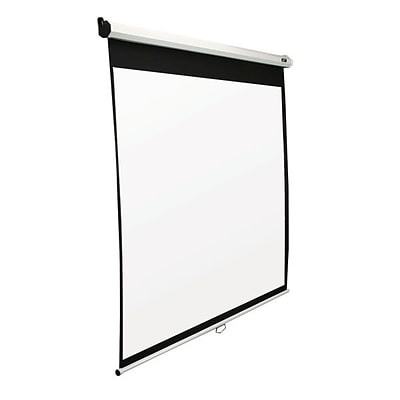 Elite Screens SRM Series 100 Manual Projection Screen; 16:9; White