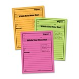 Adams® Business Forms Neon While You Were Out Pads