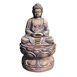 Ore International® Large Buddha Fountain, Brown