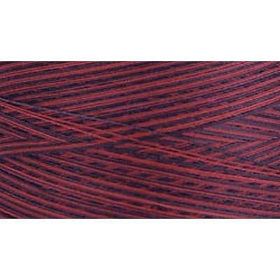 Natural Cotton Thread Variegated, Berry Berry, 3,281 Yards