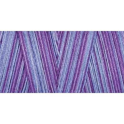 Star Mercerized Cotton Thread Variegated, Storm Clouds, 1200 Yards