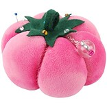 Dritz Velvet Tomato Pin Cushion, Pink