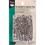 Dritz Quilters Safety Pins, Size 3, 40/Pack