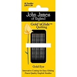 Colonial Needle Goldn Glide Quilting Needles; Size 12, 10/Pack