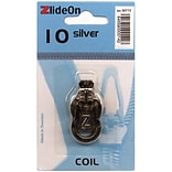 ZlideOn Zipper Pull Replacements Coil, Size 10, Silver