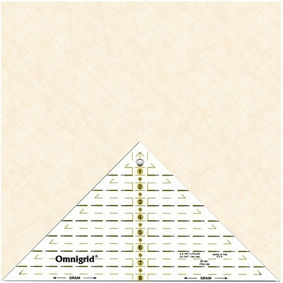 Omnigrid Right Triangle, Up To 8 Diagonal