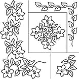 Quilt Stencils By Patricia Ritter, Daffodil,  17X20