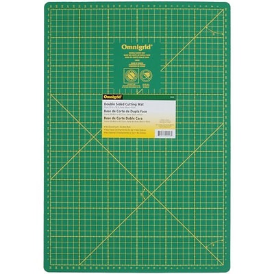 Omnigrid, Double Sided Mat Inches/Centimeters, 12X18, 30cm X 45cm