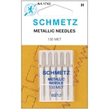 Euro-Notions Metallic Machine Needles, Size 12/80, 5/Pack