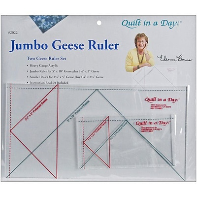 Quilt In A Day Flying Geese Rulers; Jumbo, 2 Pieces