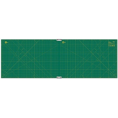 Olfa Gridded Cutting Mat Set, 23X70, Clipped