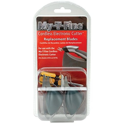 My-T-Fine Cordless Electronic Cutter Replacement Blades, 2/Pkg