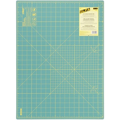 Olfa Gridded Cutting Mat; 18X24