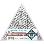 Quilters Equilateral Triangle Ruler, 7-3/4