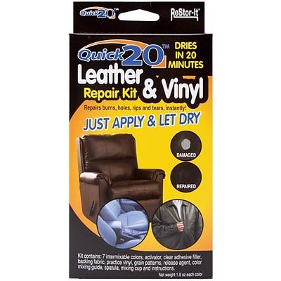 Master Manufacturing Quick 20 Leather And Vinyl Repair Kit Quill Com
