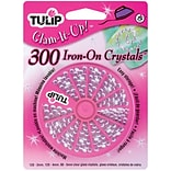 I Love To Create® Tulip® Glam-It-Up!™ Iron-On Crystals, Crystal