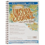 Strathmore® 9x12 140 Watercolor Visual Journal, Spiral Bound