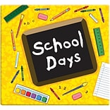 MBI® Expressions School Days Postbound Album, 12 x 12, Yellow