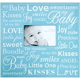 MBI® Expressions Baby Expression Postbound Album With Window, 12 x 12, Blue