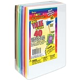 Darice® 6 x 9 Sticky Back Foam Sheets, Assorted