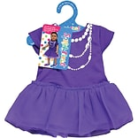 Fibre Craft® Springfield Collection® Casual Dress For 18 Dolls, Purple