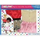 Fibre Craft® Springfield Collection® Polka Dot Party Time Gift Set For 18 Dolls