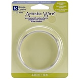 Beadalon® 10 Non-Tarnish Artistic Wire, Silver, 16 Gauge