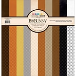 Bo Bunny Natural Necessities Double Dot Cardstock Collection Pack, 12 x 12