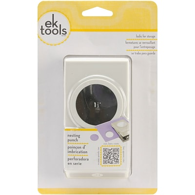 EK Success® Nesting Paper Punch, Circle, 1 1/2