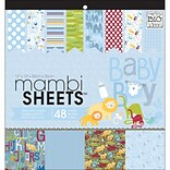 MAMBI® Oh Baby Boy Specialty Cardstock, 12 x 12