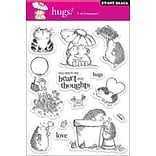 Penny Black® 5 x 7 1/2 Clear Stamp, Hugs