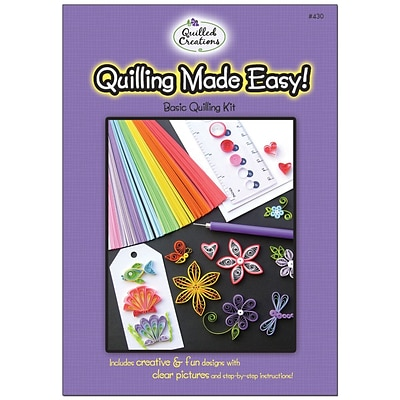 Quilled Creations Quilling Made Easy Quilling Kit